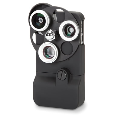 The Tricloptic iPhone 4 Camera Lens