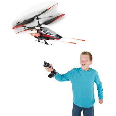 The Cyclic Stick RC Helicopter.