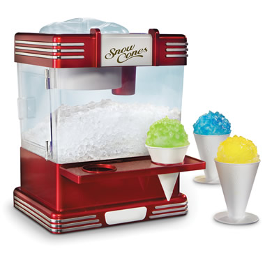 The Countertop Snow Cone Machine