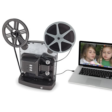 The Super 8 To Digital Video Converter - Easily connects to laptop