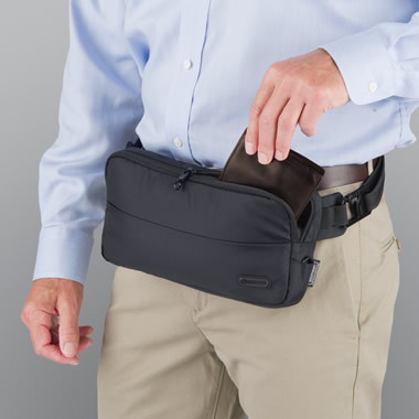The Identity Theft Thwarting Hip Pack