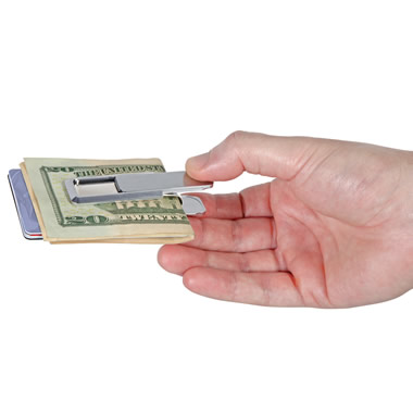 The Ultralight Money Clip