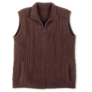 The Tibetan Wool Vest