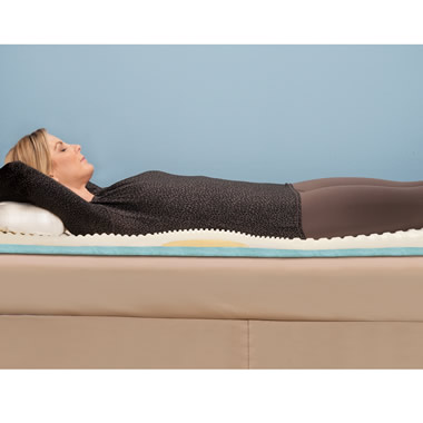 The Lumbar Supporting Memory Foam Mattress Pad (King)