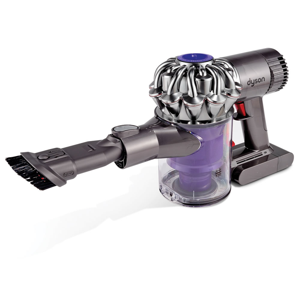 The Dyson Cyclonic Suction Hand Vacuum Hammacher Schlemmer