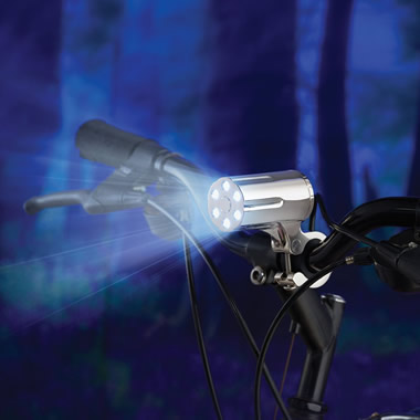 The Theft Resistant Bicycle Light