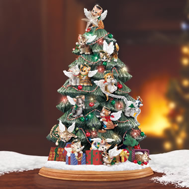 The Precocious Kittens Tabletop Tree