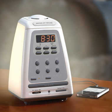 The Peaceful Progression Wake Up Clock