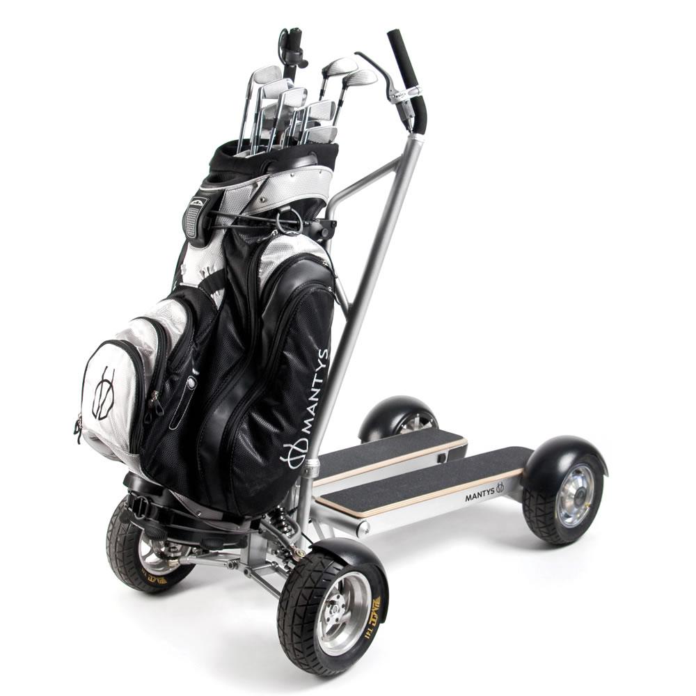 The Ride On Golf Cart Scooter - Hammacher Schlemmer