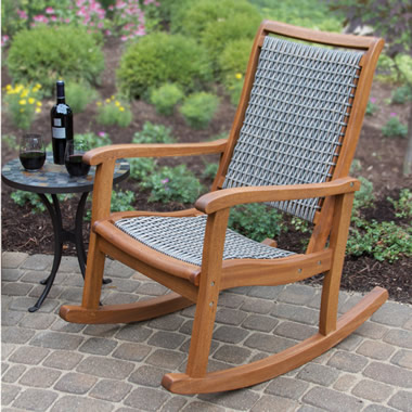 The Brazilian Eucalyptus Rocker
