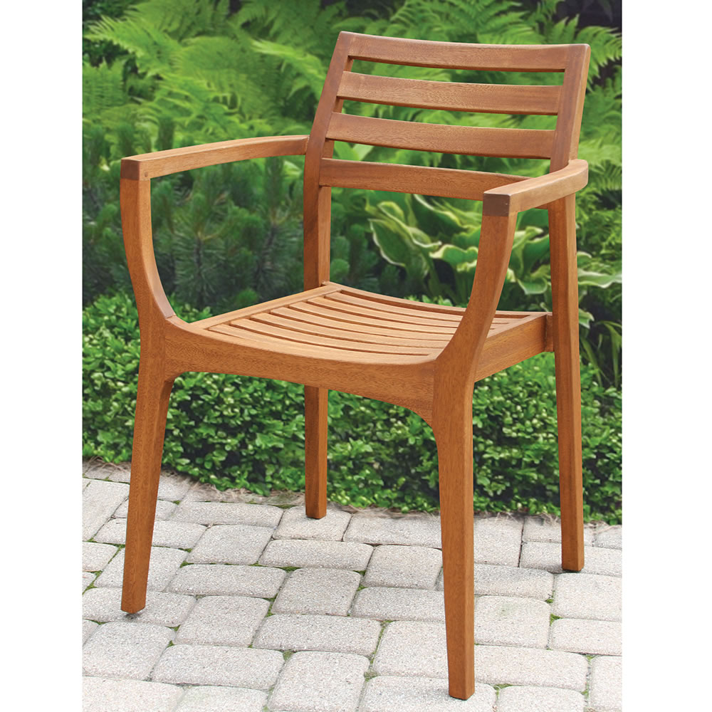 Attrayant The Wegner Inspired Stacking Deck Chairs