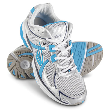 The Lady's Spring-Loaded Running Shoes