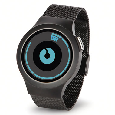 The Concentric Circles LCD Watch