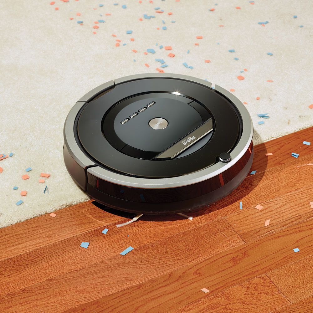 The Superior Suction Room To Room Roomba 880 - Hammacher