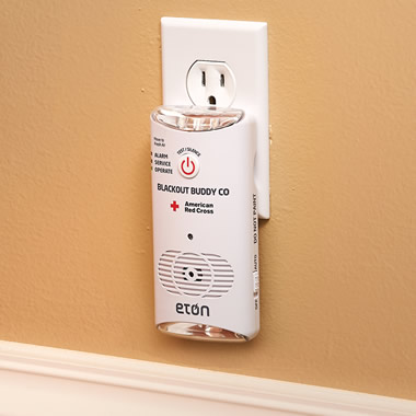 The Carbon Monoxide Emergency Light Alarm.