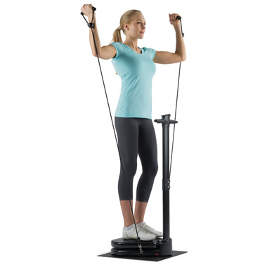 The Compact Vibration Trainer.