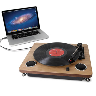 The LP To MP3 Turntable