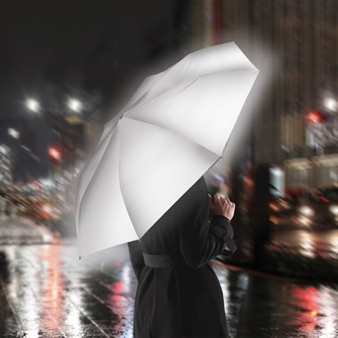 The Completely Reflective Safety Umbrella