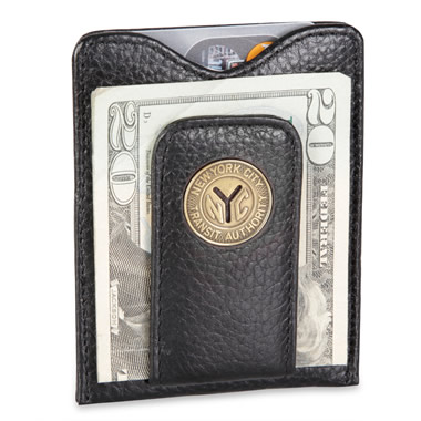 The Authentic NYC Token Money Clip