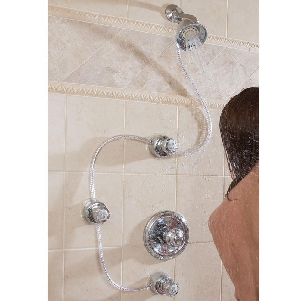 The Shower to Spa Converter - Hammacher Schlemmer