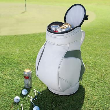 Golfers Shag Bag Cooler White