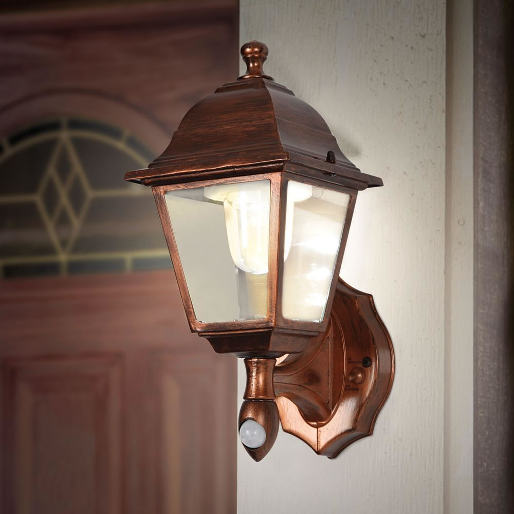 The cordless motion activated porch light hammacher schlemmer the cordless motion activated porch light aloadofball Gallery