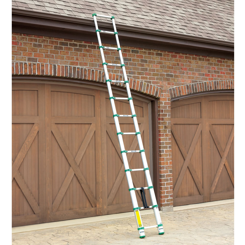 The Most Compact Telescoping Ladder - Hammacher Schlemmer