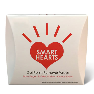 Gel Polish Remover Wraps.