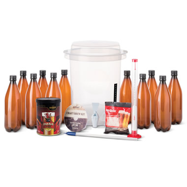 The Home Brewer's Complete Beer Kit
