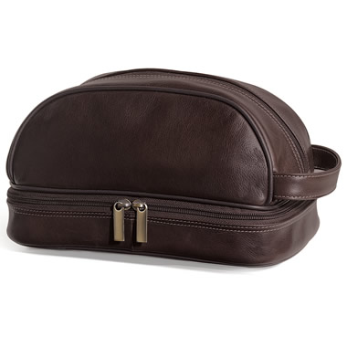 The GI's Leather Toiletry Kit.