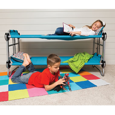 The Foldaway Childrens' Bunk Beds.