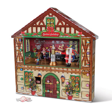 The Animated Musical Advent House.