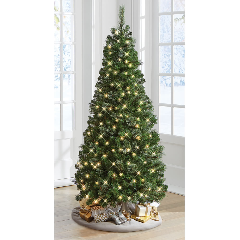 The Decoratable Pull Up Christmas Tree - Hammacher Schlemmer