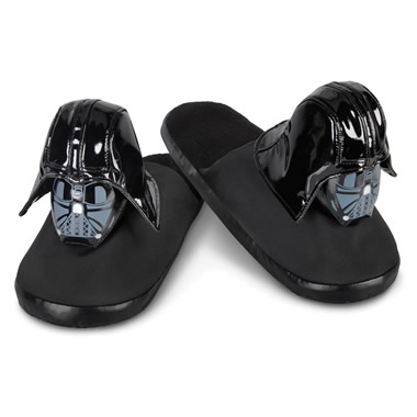 The Darth Vader Slippers.