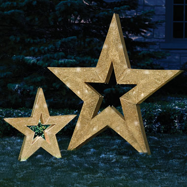 The 6' Illuminated Star.