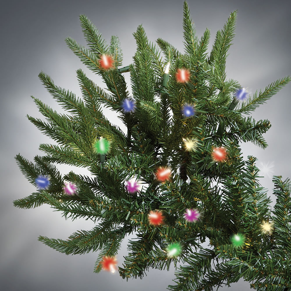 The World's Best Prelit Fraser Fir (7.5' Slim LED) - Hammacher ...