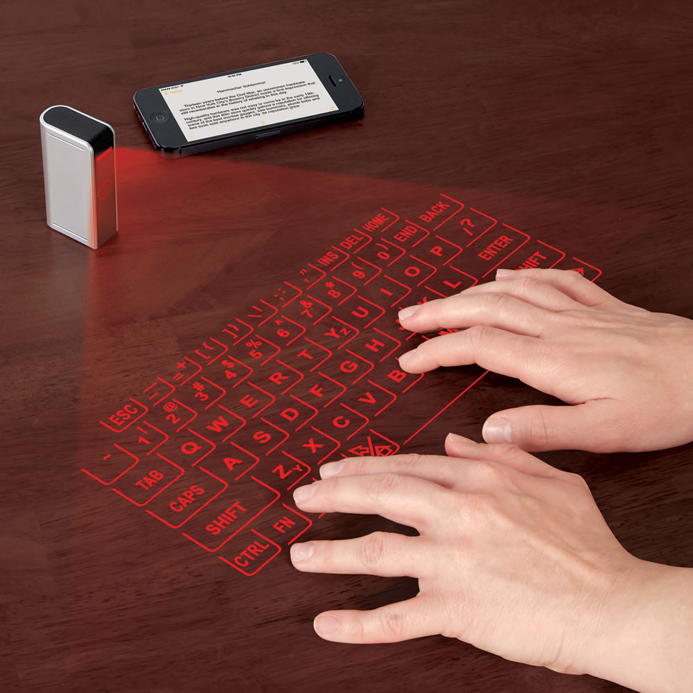Tracking Device For Car >> The Smartphone And Tablet Virtual Keyboard - Hammacher