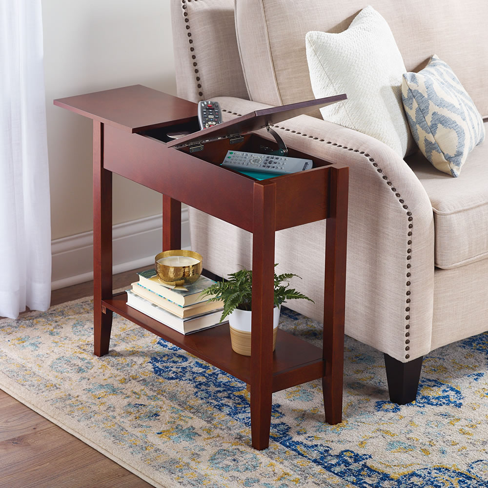 The Hidden Storage Side Table