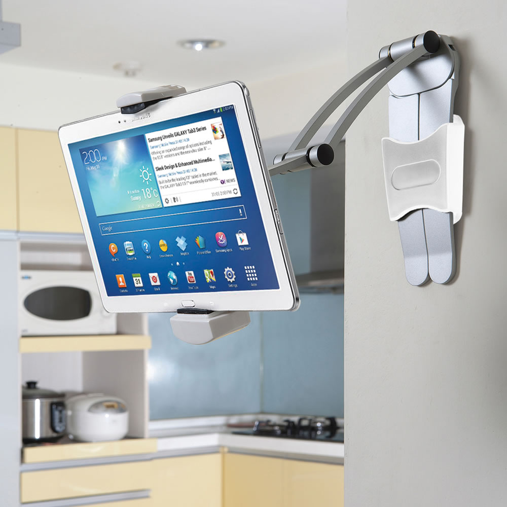 The Under-Cabinet iPad Dock