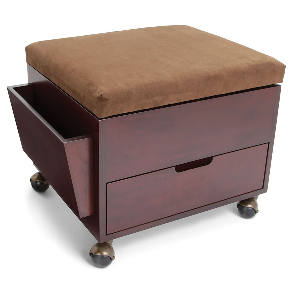 Wooden Ottomans With Storage Woodworking Plans DiZiWoodscom