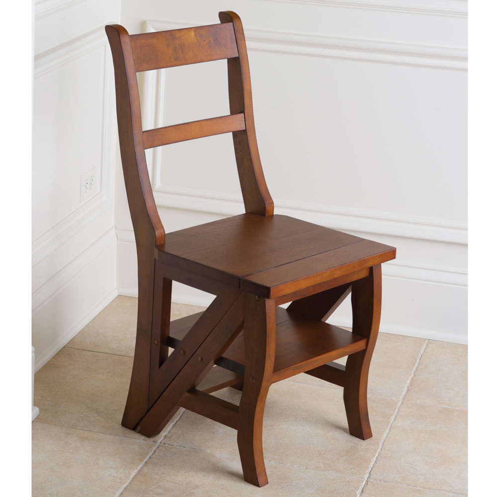 Great The Benjamin Franklin Library Ladder Chair