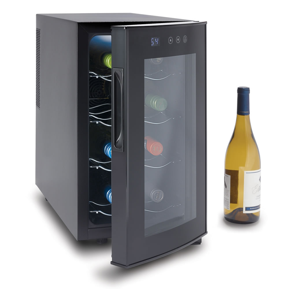 counter cooler digital walmart bottle with ip black countertop haier wine com top display