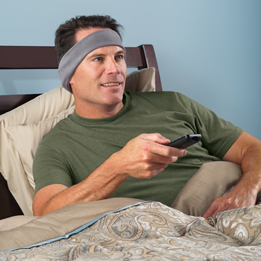 The TV Listening Headband.
