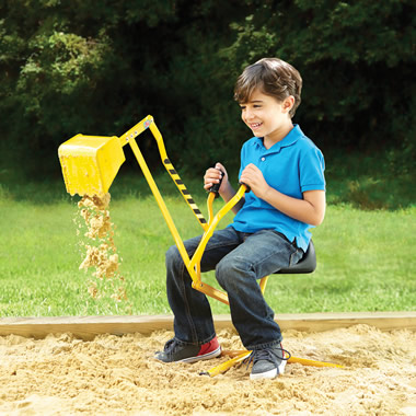 The Classic Sit-On Sand Excavator.