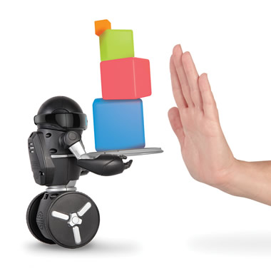 The Gesture Controlled Gyrobot.