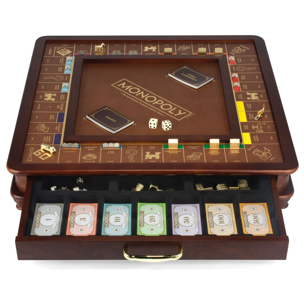 The Drawing Room Monopoly Game - Hammacher Schlemmer