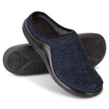 The Lady's Walk On Air Wool Slides