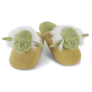 The Yoda Slippers.