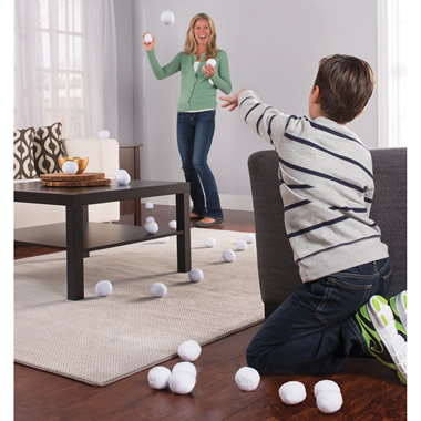 The Messless Indoor Snowball Fight