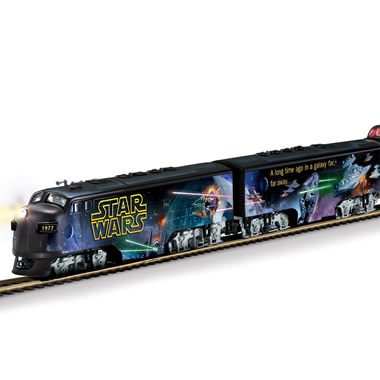 The Luminescent Star Wars Train